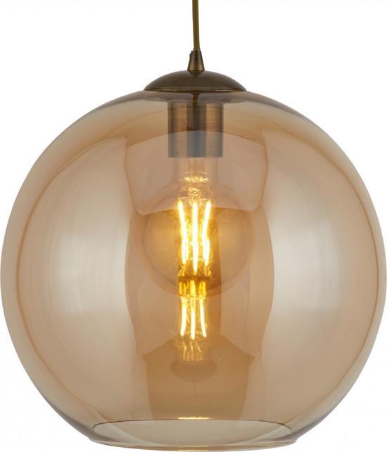 Vaak bol.com   Searchlight Balls - Hanglamp - 1 Lichts - Amber #GQ28