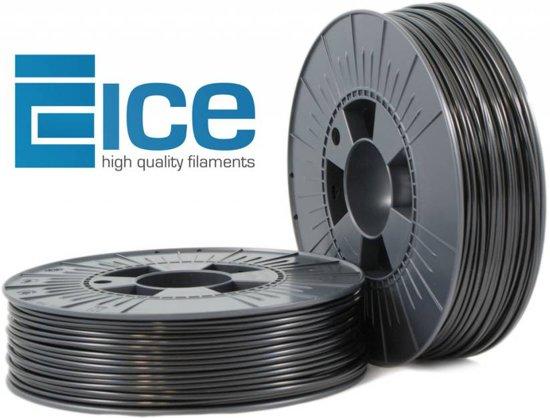 ICE filaments ABS Zwart 1,75 mm (0,75 kg)