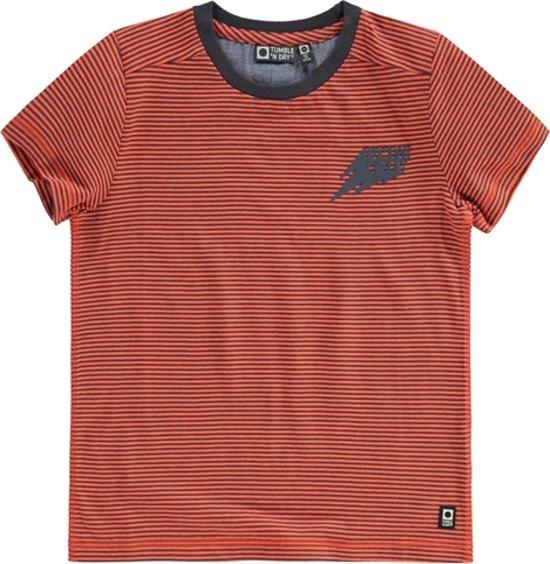 667861ca9c6 bol.com | Tumble 'n Dry Duranto T-Shirt Jongens Mid - Oranje - Maat 122
