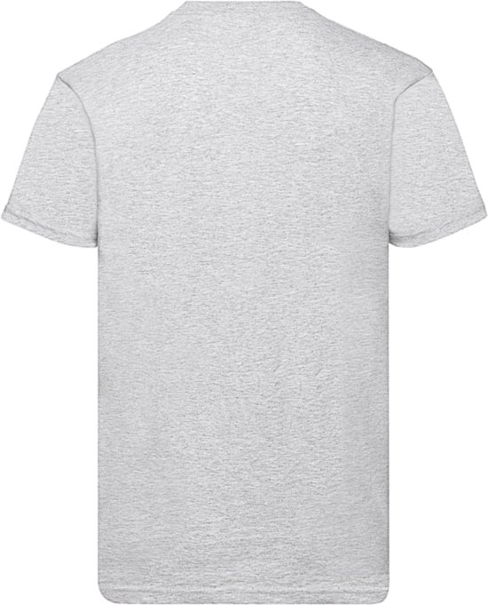 Pack T shirt Valueweight Heather Hals Of 5 Loom GreyXl The Ronde Fruit c3R4LjSq5A