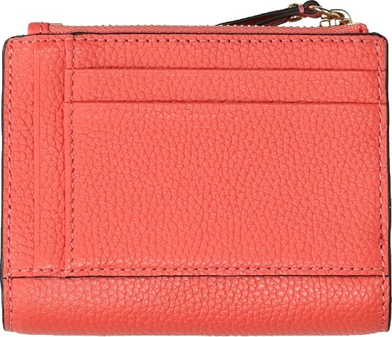 Michael Kors Jet Set Snap portemonnee grapefruit