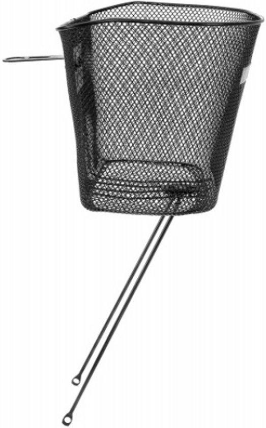 M-wave Fietsmand - Staal - 26-28 Inch - Zwart Balhoofd 1 Inch