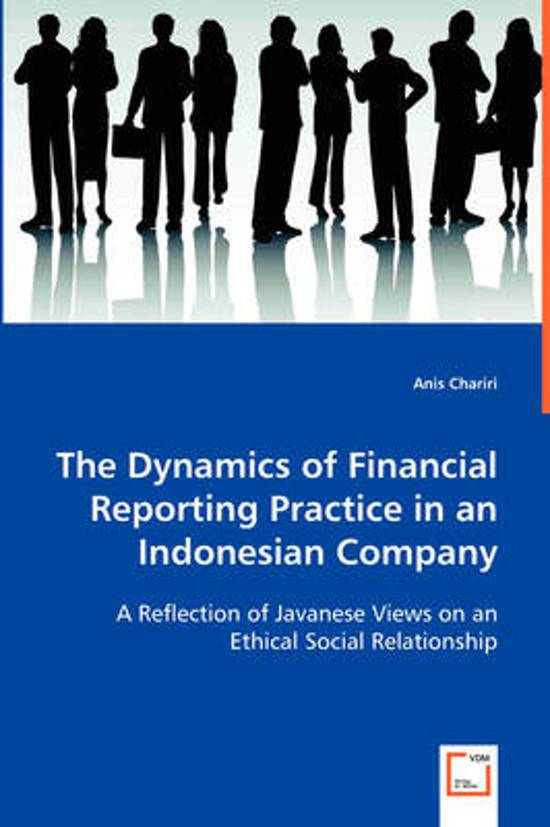 financial and ethical reportinng