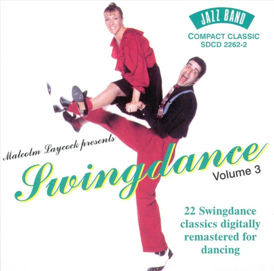 CD cover van Swingdance Vol. 3 van Jimmie Lunceford