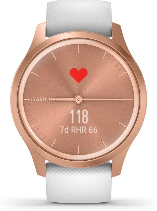 Garmin Vivomove Style - Smartwatch - Rozegoud/wit