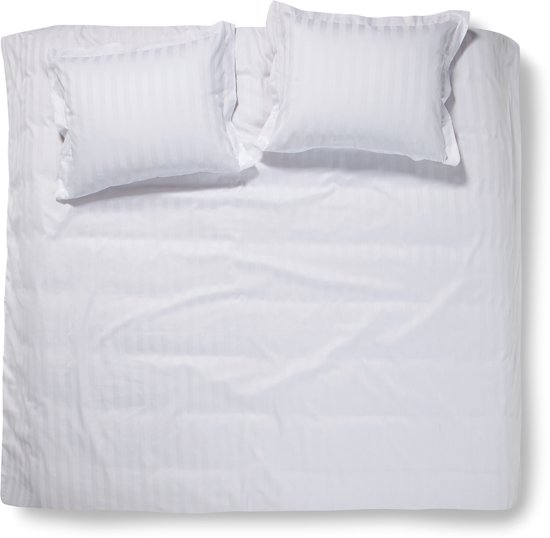 Damai Dekbedovertrekset satijn 260 x 200/220 cm linea white