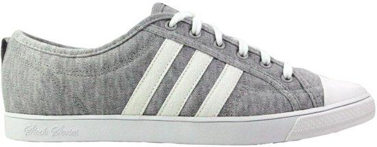 Adidas Nizza Low Sleek Dames Sneaker Grijs Wit ... - bol.com