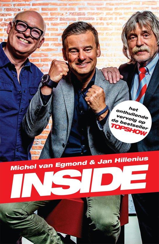 Boek cover Inside van Michel van Egmond (Onbekend)