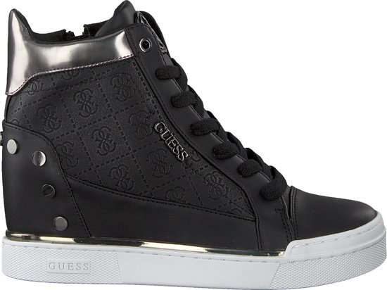 | Guess Dames Sneakers Finly Zwart Maat 36