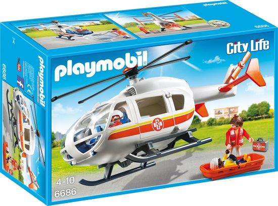 PLAYMOBIL Traumahelikopter - 6686
