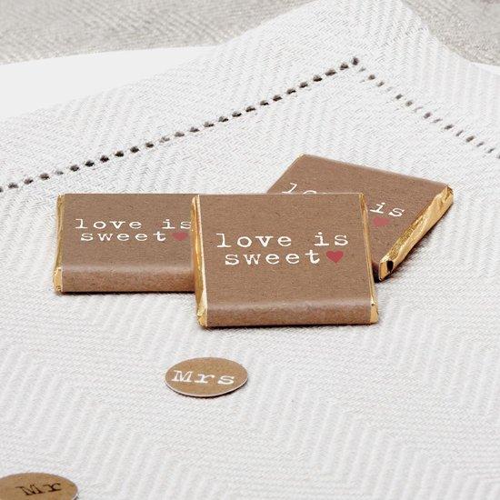 Neviti Just my type - Love is sweet - chocolade tiny's - 20 stuks Valentinaa