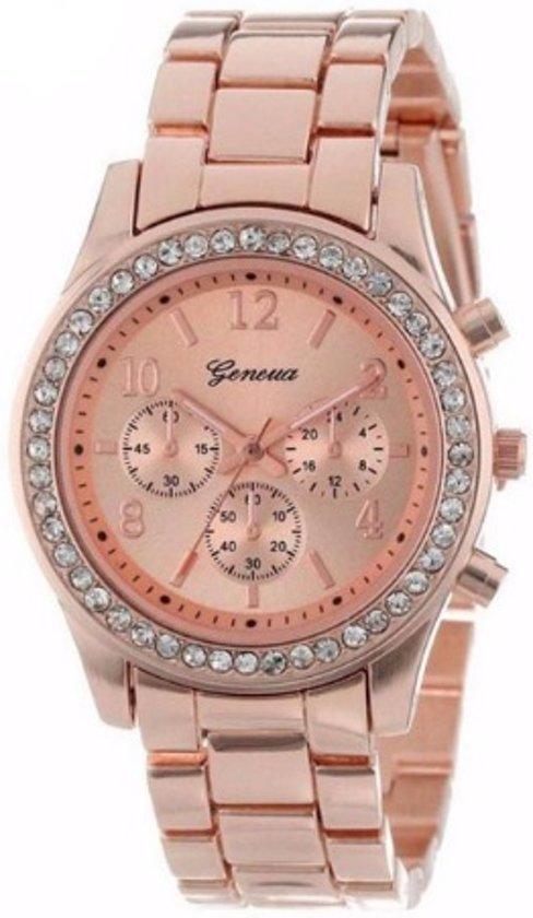 rose goud horloge