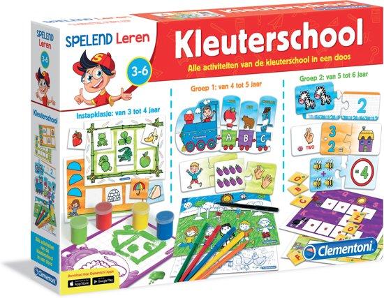 Clementoni Kleuterschool Spelend Leren Educatief Spel