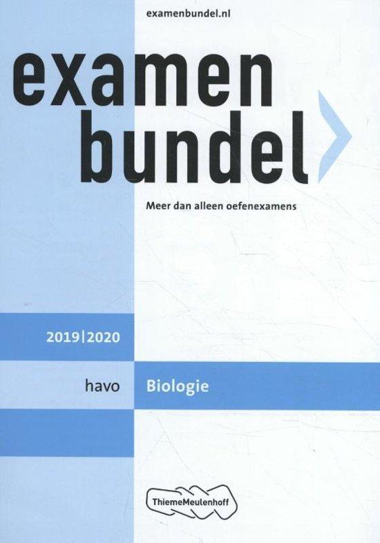 Afbeelding van Examenbundel Havo Biologie 2019/2020