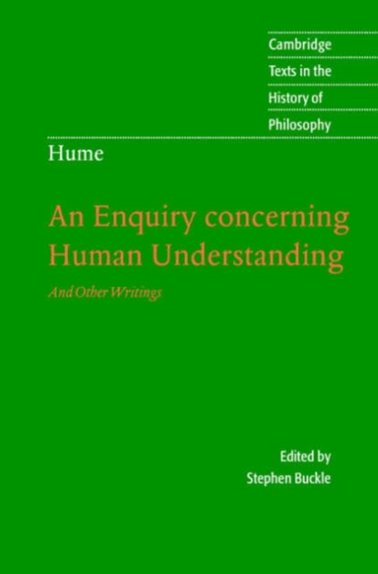 an analysis of david humes theoretical book an inquiry concerning human understanding An analysis of david hume's theoretical book an inquiry concerning human understanding pages 2 words 1,469 view full essay more essays like this.
