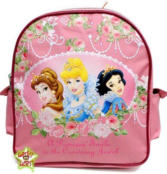 Disney PRINCESS Rozen Rugtas School Tas 2-5 Jaar Roze Lief
