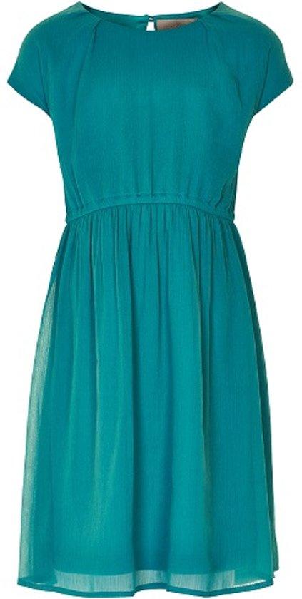 Creamie jurk - model Dancia - groen - Maat 128