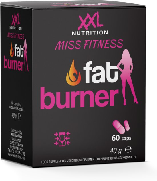 Miss Fitness - Fat Burner - 60 capsules