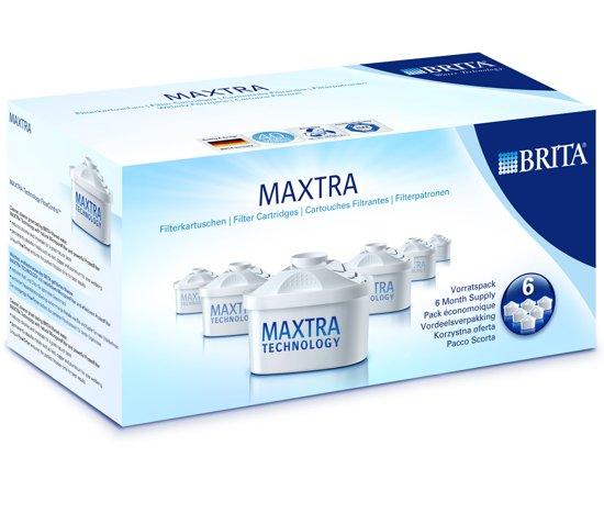 brita filterpatronen maxtra 6 pack 6 stuks. Black Bedroom Furniture Sets. Home Design Ideas