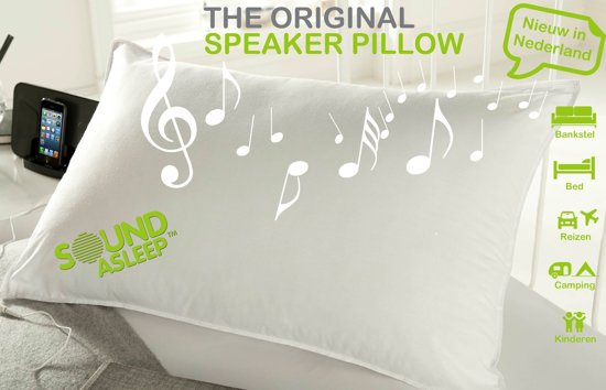 Bol sound asleep pillow kussen