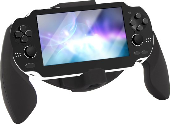 Bigben - Grip Zwart PS Vita