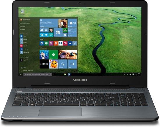 MEDION AKOYA P6667-i5-256F8 2.3GHz i5-6200U Zesde generatie Intel® Core™ i5 15.6'' 1920 x 1080Pixels Antraciet Notebook