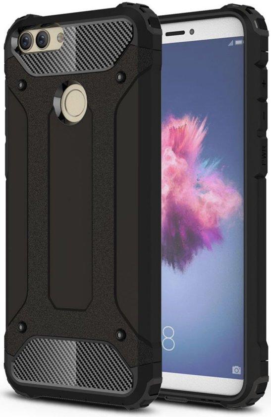 Huawei p smart hybride hoesje zwart for Huawei p8 te koop