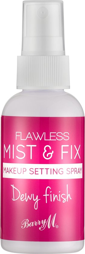 Barry M Flawless Mist & Fix Makeup Setting Spray Dewy