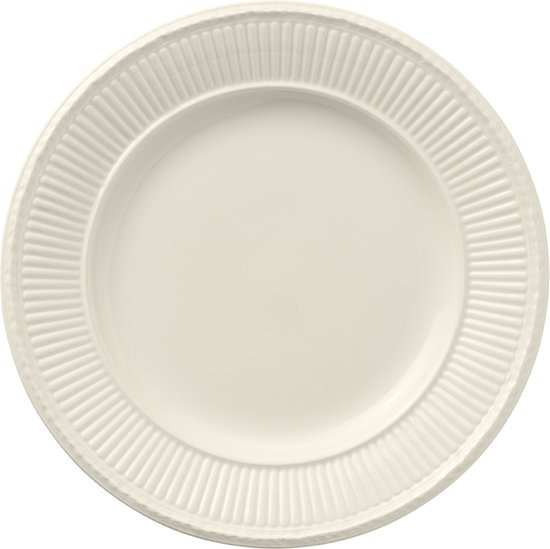 Wedgwood Edme Ontbijtbord - 23cm - Crème
