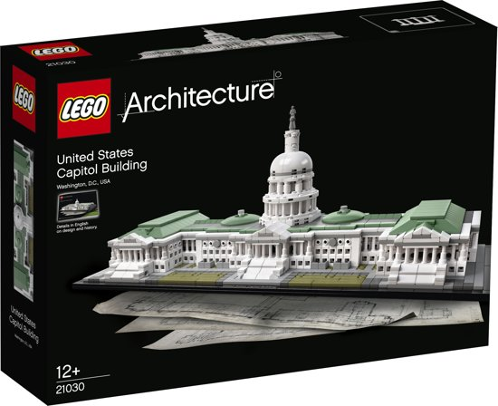 LEGO Architecture United States Capitol Building - 21030