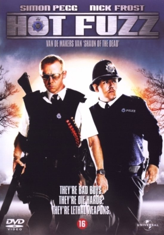 DVD cover van Hot Fuzz