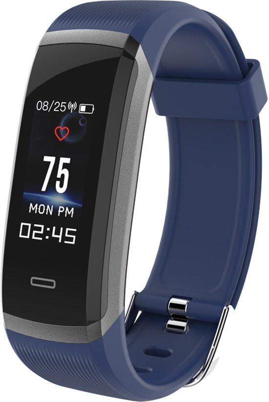Sport horloge - Smart watch -  HR3 blauw - Stappenteller - hartslagmeter - Ideaal voor fietsen , hardlopen, wandelen