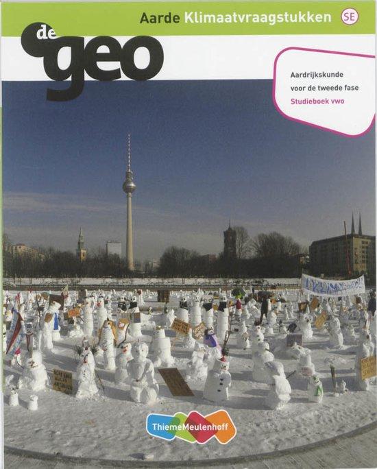 De Geo De Geo Vwo Aarde Studieboek
