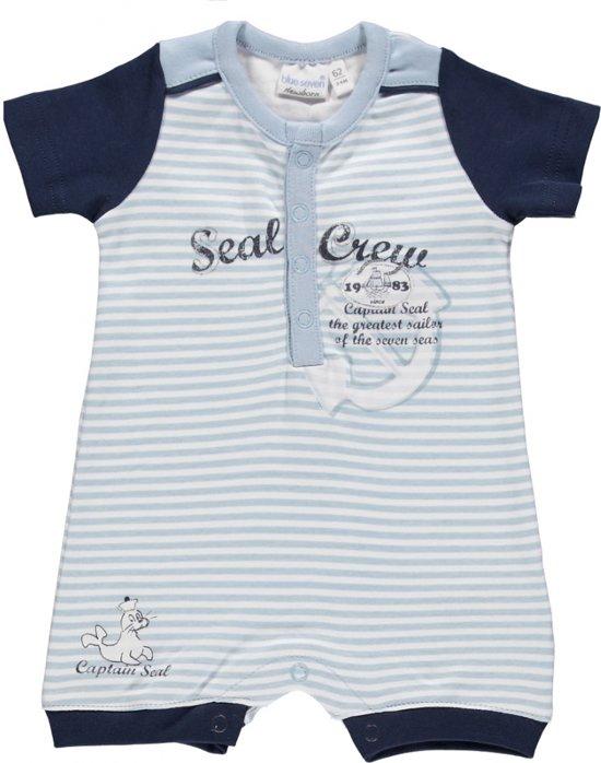 Babykleding Print.Bol Com Blue Seven Babykleding Lichtblauw Pakje Met Een Print