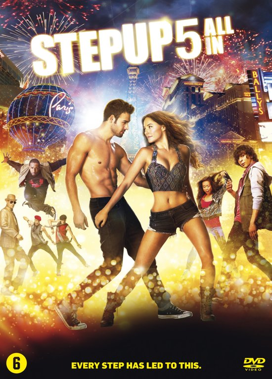 DVD cover van Step Up 5: All In