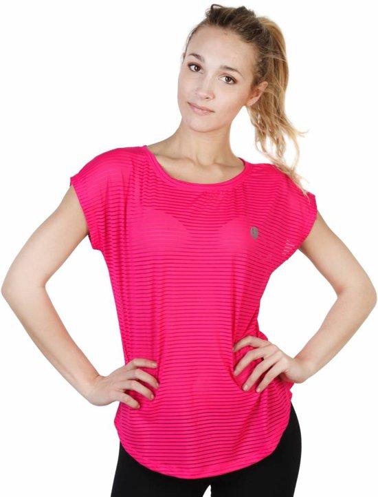 Dames T-shirt van Elle Sport - roze
