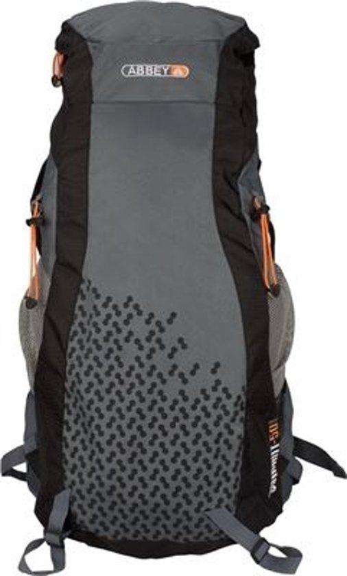 0981405ac4d bol.com | Abbey Rugzak Trekking Grijs 55 Liter Met Verstelsysteem