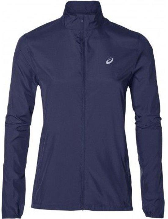 Asics Silver Jacket Sportjas Dames - Indigo Blue - Maat M