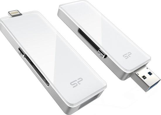 Silicon Power xDrive Z30 64GB USB flash drive USB Type-A / Lightning 3.2 Gen 1 (3.1 Gen 1) Wit