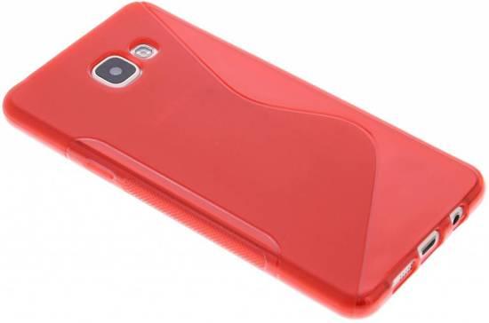 Cas Tpu Rouge S-ligne Pour Samsung Galaxy J1 g99FLDUB