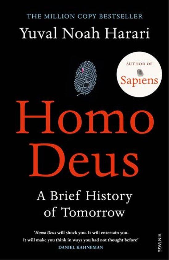 Boek cover Homo Deus van Yuval Noah Harari (Onbekend)