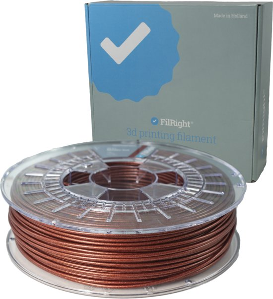 PLA+ Filament - Rood Metallic - 2.85mm - 750 g - FilRight Pro