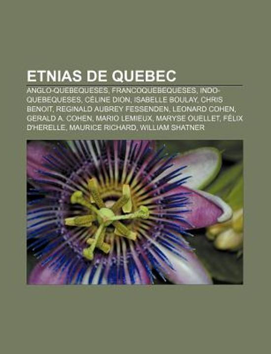 Etnias de Quebec