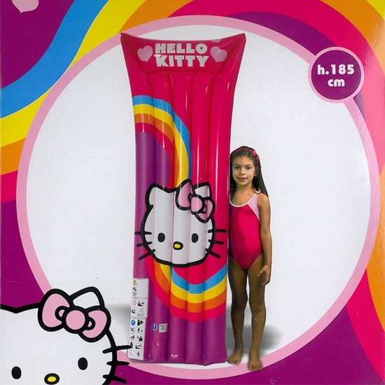 Hello Kitty luchtbed groot - 185 cm