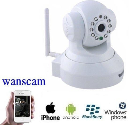 IP Camera Wanscam JW009 & Opnamefunctie - Ideaal als babyfoon !