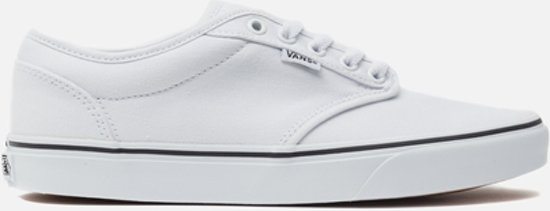 vans atwood white heren sneakers wit