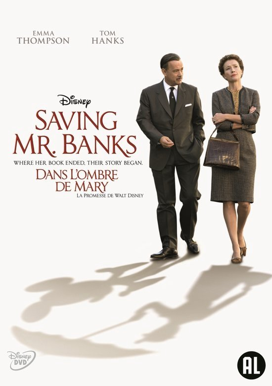 DVD cover van Saving Mr. Banks