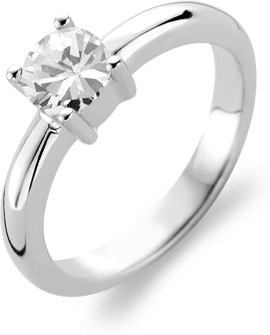TI SENTO Milano Ring 1463ZI - Maat 52 (16,5 mm) - Gerhodineerd Sterling Zilver