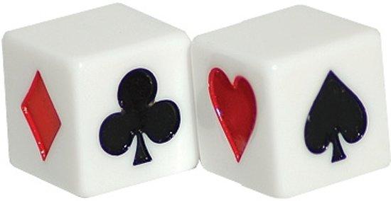 Afbeelding van het spel Klaverjas 1x Dobbelsteen Troeftrekker 16mm