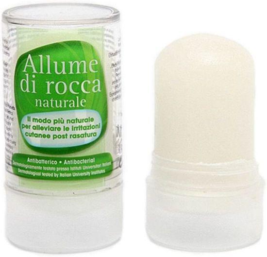 Aluin steen natural deodorant stick 120g zonder aluminium aluinsteen